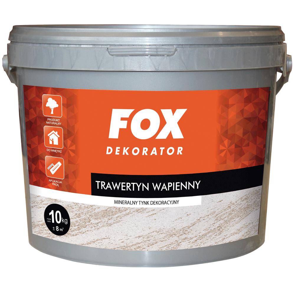 TRAWERTYN WAPIENNY: GRUBY  FOX