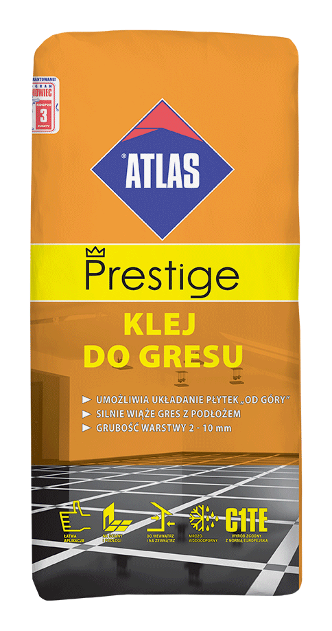 KLEJ DO GRESU ATLAS PRESTIGE