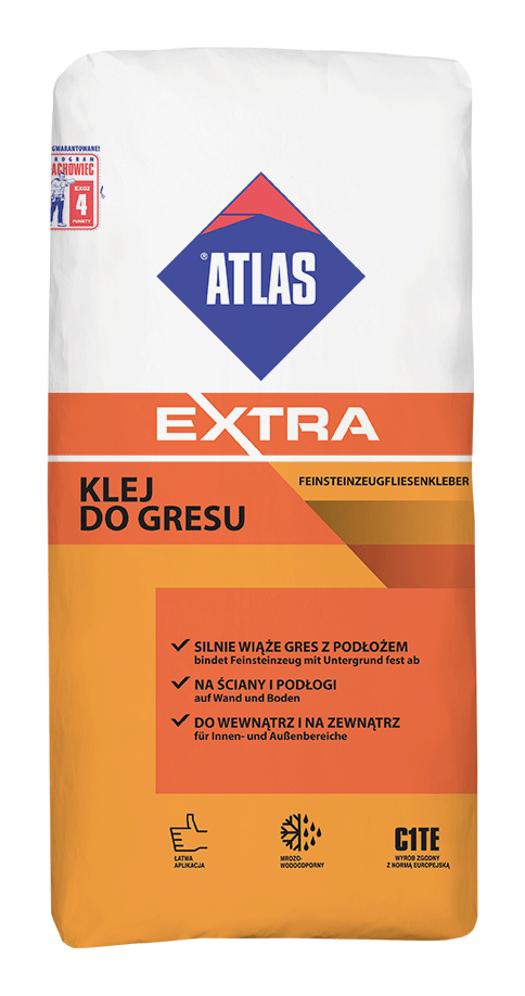 KLEJ DO GRESU ATLAS EXTRA